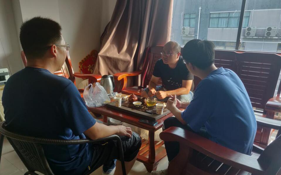 桂林平台深入走访,为企业提供科技服务