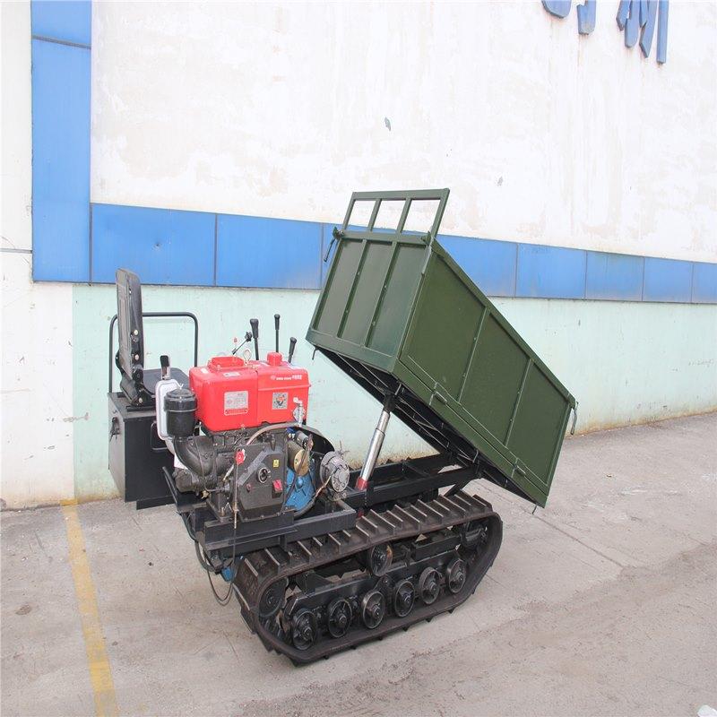厂家直供广西履带车多功能履带式自卸车2T座驾履带车