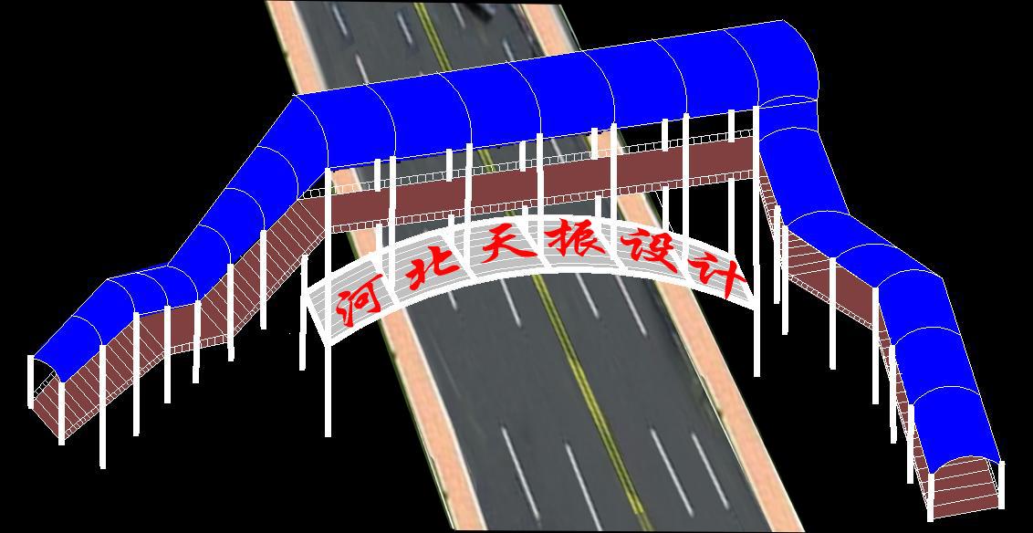 一种新型过街天桥