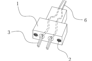 220V螺杆紧固接插头